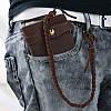 Уникальный мужской кожаный кошелек S.J.D. 8031R