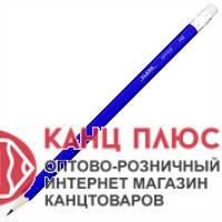Klerk Карандаш чернографитный с резинкой арт. KL 101 (100)