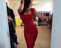 Платье футляр лето