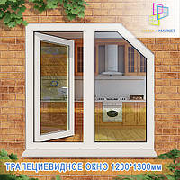 Купить трапециевидные окна Киев