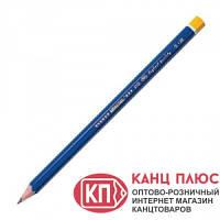 VGR Карандаши чернографитный 2В корпус синий  (12) арт. 3101