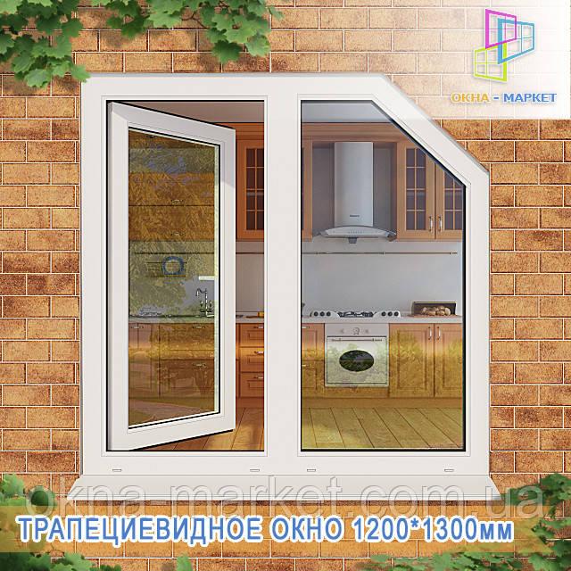 Купити трапецієвидні вікна Вишгород