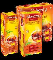 Чай Черный в пакетиках Alokozay (Алокозай) 100 пак