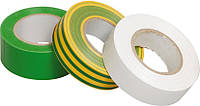 Изолента 0,13×15 мм желто-зеленая (общего применения) 20 метров, IEK