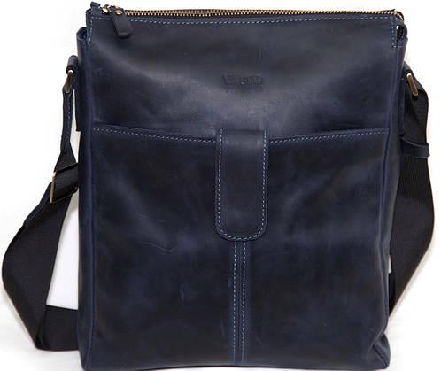 Практичная мужская сумка через плече VATTO MK18Kr600, синий