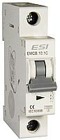 Модульный автоматический выключатель 4,5 кА,1 п, 10 А, х-ка С