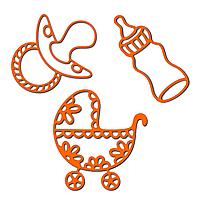 Нож (лезвие) Crafty Ann - Babies 2 (3-в-1)