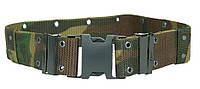 Ремень тканный тактический Sturm Mil-Tec US LOCHKOPPEL LC2 MED WOODLAND камуфляж лес (13310020)