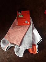 Носки короткие женские, в упак. 3 пары,   TCM TCHIBO  ГЕРМАНИЯ