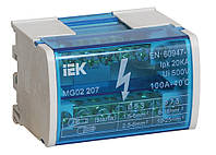 Шина «N» нулевая на DIN-рейку в корпусе 2x7 групп, IEK