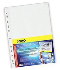 Файл A4 для документів 30мкн (100шт) Soho