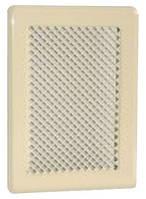 Вентиляционная решетка кремовая К1 135x195 (105х165)