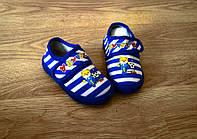 Детская обувь Детские тапочки стильная полоска 19-23