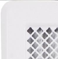 Белые вентиляционные решетки