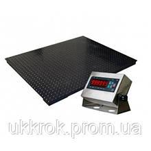 Весы платформенные ЗЕВС ВПЕ (Премиум) 1000X1000мм - 500кг (0,5 тонны)