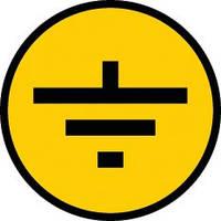 Символ заземления 20x20 мм, IEK