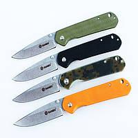 Нож складной Ganzo G6801 (Liner lock) (черный, зеленый, оранжевый, хаки)