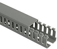 Кабель-канал перфорированный 25x60 мм «ИМПАКТ», IEK