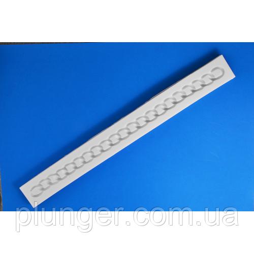 Молд кондитерський силіконовий для мастики Ланцюжок-ремінь для сумочки