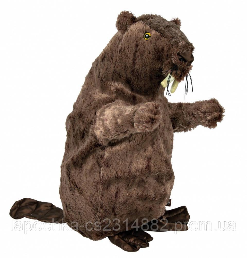 Игрушка для собак Trixie Бобер c пищалкой, плюш