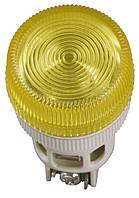 Лампа ENR-22 неон d22 мм красная 240В цилиндр, IEK