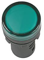 Лампа AD-22DS LED-матрица d22 мм синяя 36В AC/DC, IEK