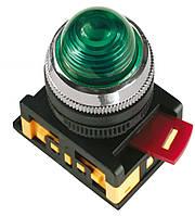 Лампа AL-22 неон d22 мм красная 240В цилиндр, IEK