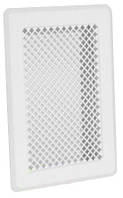 Вентиляционная решетка белая К1 135x195 (105х165)