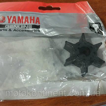 Крыльчатка для лодочного мотора  Yamaha 25D/25N 6L2-44352-00, фото 2