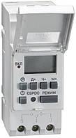 Таймер цифровой ТЭ15 16А 230В на DIN-рейку, IEK