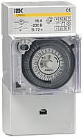 Таймер аналоговый ТЭМ181 16А 230В на DIN-рейку, IEK
