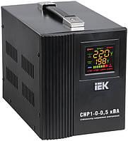 Стабилизатор напряжения СНР1-0-0,5 кВА электронный переносной, IEK