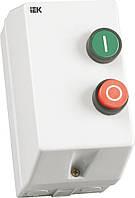 Контактор КМИ10960 в оболочке 9 А 220 В/AC3 IP54 1НО, IEK, KKM16-009-220-00