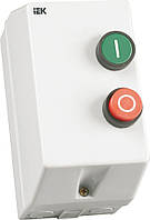 Контактор КМИ11260 в оболочке 12 А 220 В/AC3 IP54 1НО, IEK, KKM16-012-220-00