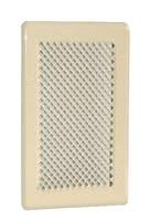 Решетка для камина кремовая К3 175x245 (140x215)  , фото 1