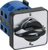 Переключатель кулачковый ПКП10-44/О 10 А «Uc-О-Ua-Ub» 4P/400 В, IEK