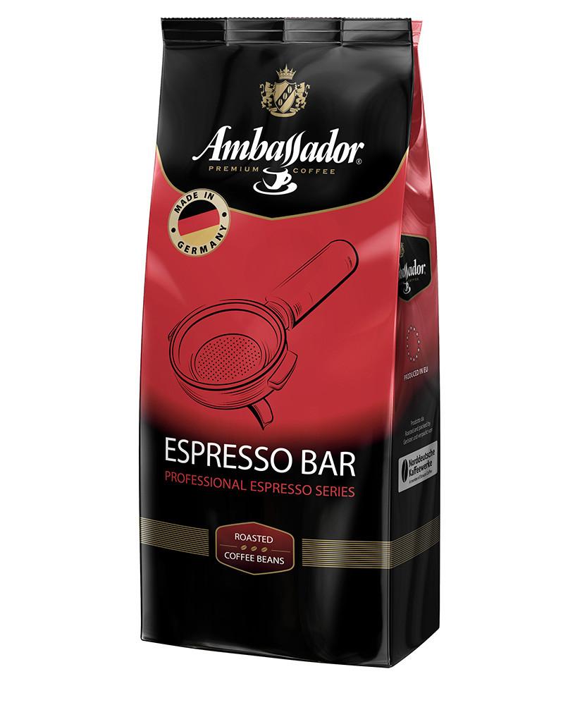 Кава в зернах Ambassador Espresso Bar 1кг.  (Польша)