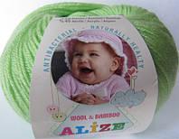 Пряжа Baby Wool Alize (18 цветов)