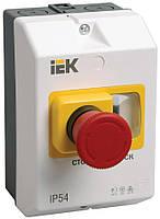 Защитная оболочка IP55 с кнопкой «Стоп» для ПРК32, IEK