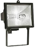 Прожектор ИО 1000 галогенный черный 1000 Вт IP54, IEK