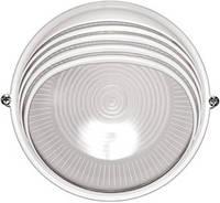 Светильник НПП 1307 белый/круг ресничка 60 Вт IP54, IEK