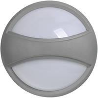 Светильник ДПО 1303 серый круг с пояском LED 6x6 Вт IP54, IEK