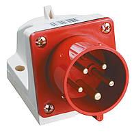Вилка ССИ-525 стационарная 3P+PE+N 32А 380В IP44, IEK