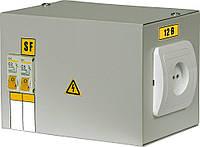 Ящик с понижающим трансформатором ЯТП-0,25 220/24-2 36 УХЛ4 IP30, IEK