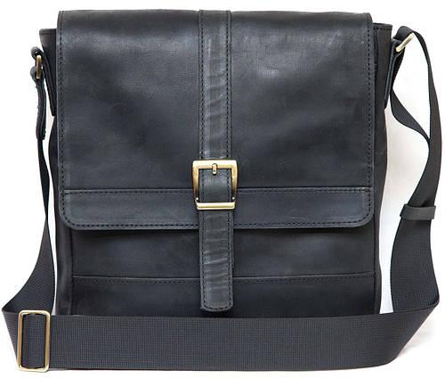 Мужская практичная сумка из высококачественной натуральной кожи VATTO Mk17Kr670, черный