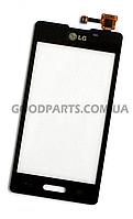 Сенсорный экран (тачскрин) для LG E450, E460 Optimus L5 черный high copy