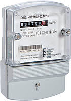Счетчик НІК 2102-02 М1В однофазный 5(60) А электромеханический однотарифный, NiK