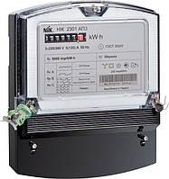 Счетчик НІК 2301 АК1 трехфазный 5(10) А электромеханический однотарифный, NiK