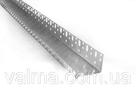 Стартовый (цолкольный) профиль алюминий 53 мм, 2,5 м