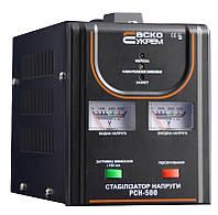Стабилизатор напряжения РСН-500 0,5 кВА релейный переносной, АСКО-УКРЕМ